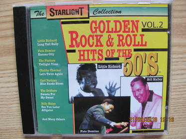 Golden Rock & Roll Hits Of The 50's Vol.2