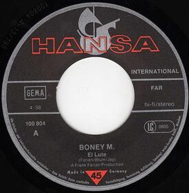 Boney M. – El Lute / Gotta Go Home