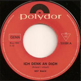 Roy Black – Ich Denk' An Dich