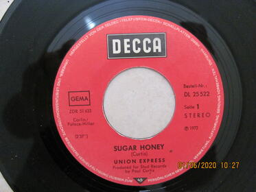 Union Express – Sugar Honey / Taking The Road To Freedom
