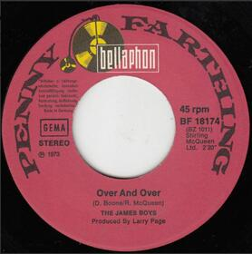 The James Boys  – Over And Over