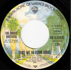 The Doobie Brothers – Take Me In Your Arms (Rock Me)