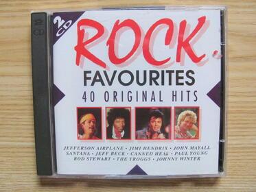 Rock Favourites - 40 Original Hits