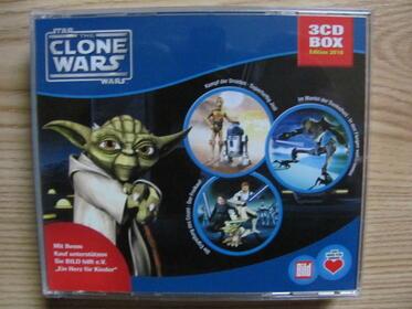 Star Wars Clone Wars 3 CD HörspielBox