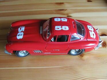 Mercedes Benz 300 SL Mille Miglia 1954 - Red