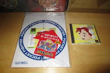 PS1 Pocket Fighter Promo Store Display Set