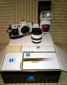 Limitiertes Minolta Dynax 8000i 'Prestige Limited Edition' Set