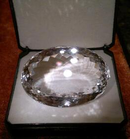 Perfekter Bergkristall AAA/ IF-Qualität, 182 ct.! Wertanlage!
