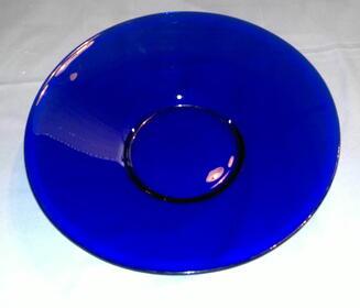Wunderschöne Obstschale in edlem Kobaltblau aus Sammlung