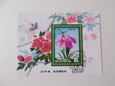 Korea Nord Block 216 gestempelt