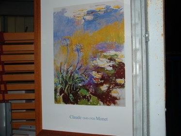Bild von Monet, Blumenmotiv