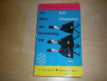 G.K.Chesterton Der Mann der Donnerstag war