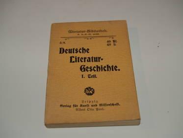 Deutsche Literaturgeschichte Teil 1