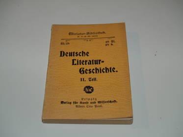 Deutsche Literaturgeschichte Teil 2