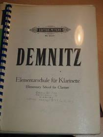 Elementarschule für Klarinette