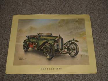 Mobil Sammelbilder Bentley 1920