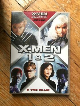 DVD X-MEN 1 & 2 - 2 DVDs!