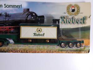 Freightliner mit Güterwaggon Riebeck Erfurt (Thüringen) Modell H0
