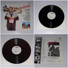 Buster (1988) Vinyl LP original Soundtrack, Phil Collins, Anne Du