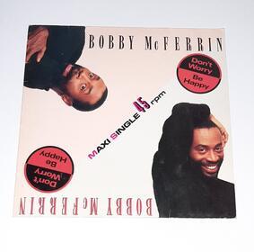 don't worry be happy - bobby mcferrin Maxi Single 1988