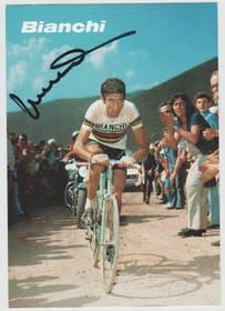 Autogrammkarte Felice Gimondi