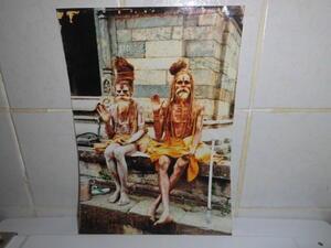 Großes Foto - Zwei alte Inder