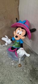 Minnie Maus mir Gieskanne 1m