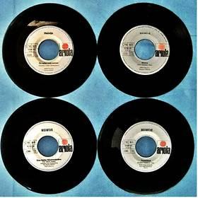 4 verschiedene Single von Heintje : Zwei kleine Sterne / Mama
