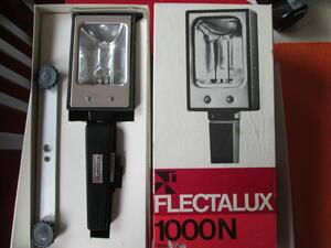 Lichtlampe für Fotos Flectalux 1000 W aus den 50/60 iger Jahren