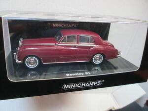 Bentley S 2 Standard Saloon dunkelrot 1:43 von Minichamps