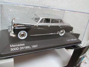 White Box Mercedes-Benz 300 D schwarz grau 1:43