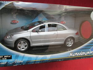 Solido Peugeot 307 CC silber 1:18