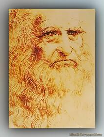 Leonardo da Vinci - Autoportrait de Léonard