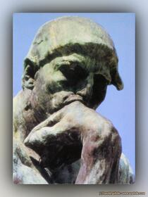 Auguste Rodin - Der Denker (Detail)