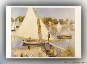 Pierre-Auguste Renoir - Die Seine bei Argenteuil