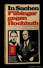 Rosemarie von dem Knesebeck - In Sachen Filbinger gegen Hochhuth