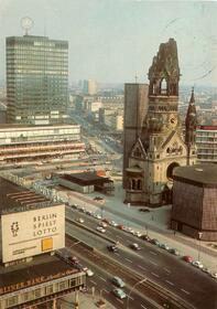 Berlin - Blick Europa Center und Kaiser-Wilhelm-Gedächtniskirche