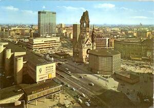 Berlin - Gedächtniskirche und Europa-Center