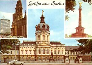 Berlin - Gedächtniskirche / Europa-Center, Siegessäule, Schloß