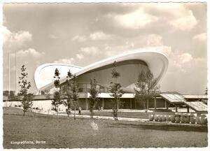 Berlin - Kongreßhalle im Tiergarten, Architekt Hugh A. Stubbins