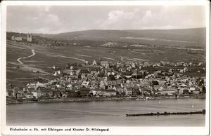 Rüdesheim a. Rhein Mit Eibingen und Kloster St. Hildegard