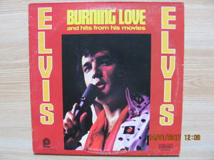 Elvis Presley ‎– Burning Love And Hits From His Movies, Vol. 2