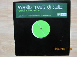 Salsotto Meets DJ Stella – Remains The Same