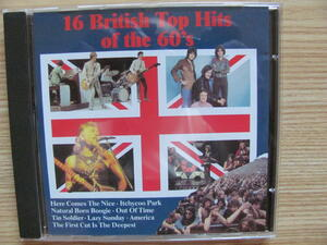 16 British Top Hits Of The 60's