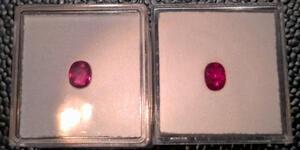 Schöne u. echte Burma Rubine (4 Chargen vorhanden) Taubenblutrot!