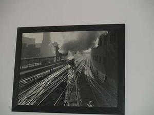 Bild Dampflok in Chicago, Ill.
