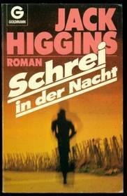 Jack Higgins: Schrei in der Nacht